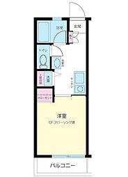 千葉県浦安市北栄3丁目の賃貸アパートの間取り
