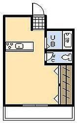 アプリーリア[3階]の間取り
