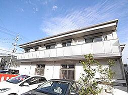 兵庫県姫路市北平野南の町の賃貸アパートの外観
