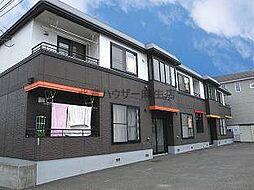 北海道札幌市北区屯田五条12丁目の賃貸アパートの外観