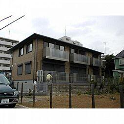 千葉県松戸市六高台5丁目の賃貸アパートの外観