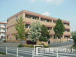 愛知県豊田市御船町山屋敷の賃貸マンションの外観