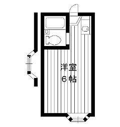 東京都板橋区小茂根の賃貸アパートの間取り