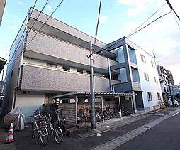 京都府宇治市五ヶ庄新開の賃貸マンションの外観