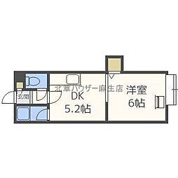 札幌いずみハイツ[3階]の間取り