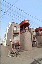 北海道札幌市豊平区旭町7丁目の賃貸アパートの外観