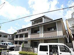 京都府京都市上京区上神輿町の賃貸マンションの外観