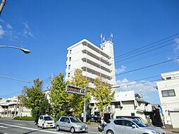 福岡県北九州市若松区中川町の賃貸マンションの外観
