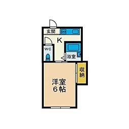 第2パルハウス[1階]の間取り