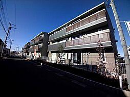 千葉県柏市小青田4丁目の賃貸アパートの外観