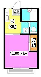 貫井ハイツ[1階]の間取り