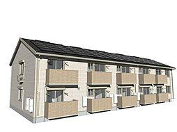 兵庫県姫路市青山西の賃貸アパートの外観