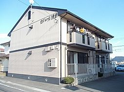 岡山県総社市清音上中島の賃貸アパートの外観