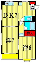 第2涌井ビル[3階]の間取り