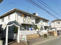 福岡県大野城市筒井1丁目の賃貸アパートの外観
