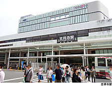 吉祥寺駅(現地まで1360m)
