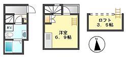 アグライア(AGLAIA)[2階]の間取り