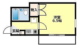 愛知県豊田市喜多町6丁目の賃貸アパートの間取り