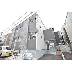 福岡県福岡市博多区竹下5の賃貸アパートの外観