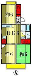 サンVパーク3[2階]の間取り