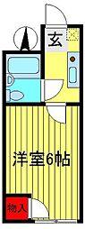 N・Yマンション[301号室]の間取り