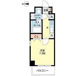 プロシード新栄[2階]の間取り