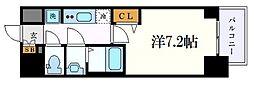 名古屋市営桜通線 丸の内駅 徒歩2分の賃貸マンション 9階1Kの間取り