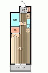 美山コーポ向ヶ丘[0309号室]の間取り
