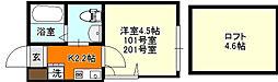 横浜市磯子区杉田4丁目 プルミエール杉田[101号室号室]の間取り