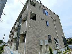 神奈川県大和市中央6丁目の賃貸アパートの外観