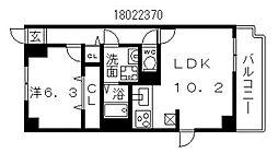 ピュアコートIII[2階]の間取り