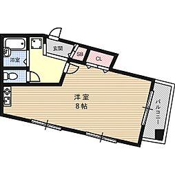 K24ビル[5階]の間取り