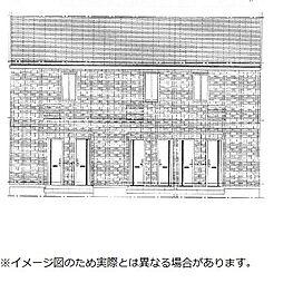 仮)D−room与原CⅡ B棟[2階]の外観