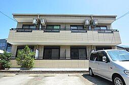 愛知県名古屋市中川区長須賀3丁目の賃貸アパートの外観