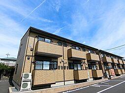 栃木県真岡市西郷の賃貸アパートの外観