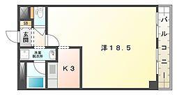 徳高ビル[3階]の間取り