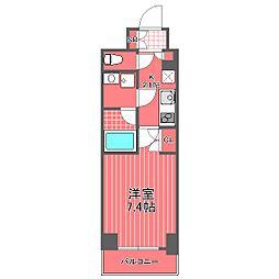 コンフォリア横濱関内[3階]の間取り