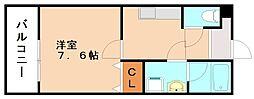 有井アパート[1階]の間取り