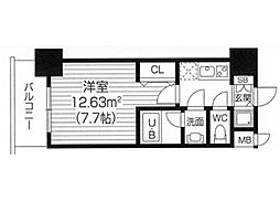 S−RESIDENCE福島Luxe[0508号室]の間取り