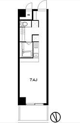 ロイヤルハイツ新宿御苑[2階]の間取り