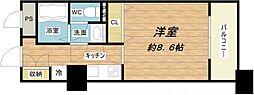 メゾン・ド・ヴィレ大阪城公園前[9階]の間取り