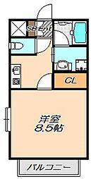 兵庫県神戸市西区前開南町2の賃貸マンションの間取り