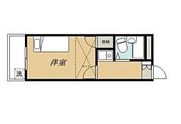 東船橋第3レジデンス[102号室]の間取り