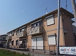 兵庫県加古郡播磨町古宮の賃貸アパートの外観