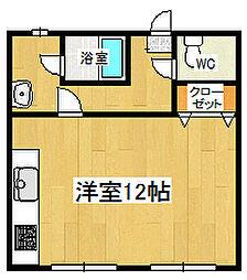 たかのしま荘[101号室]の間取り