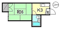 余戸駅 1.7万円