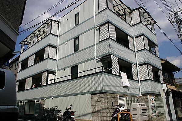 京都府京都市上京区東堀町の賃貸マンションの外観