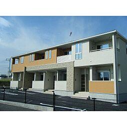 茨城県水戸市石川3丁目の賃貸アパートの外観