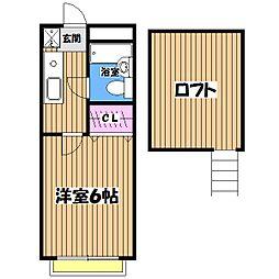 ガウディ7[2階]の間取り