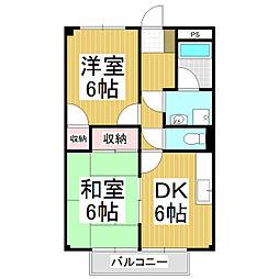 Assent-Hills A棟[2階]の間取り